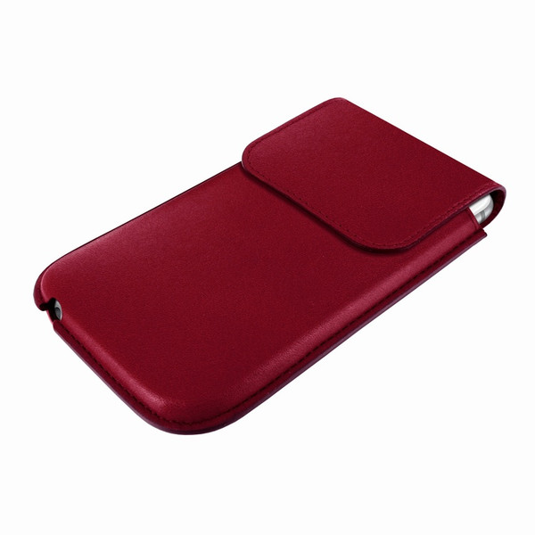 Piel Frama 692 Burgundy Leather Slim Pouch for Apple iPhone 6 Plus
