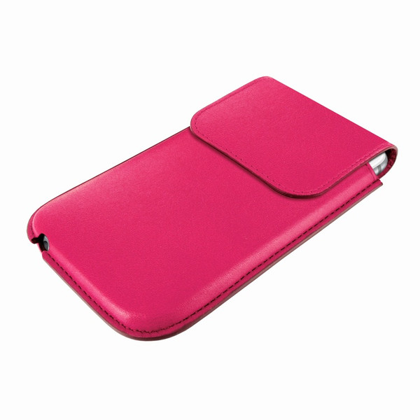 Piel Frama 692 Pink Leather Slim Pouch for Apple iPhone 6 Plus