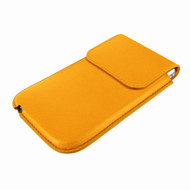 Piel Frama 692 Yellow Leather Slim Pouch for Apple iPhone 6 Plus