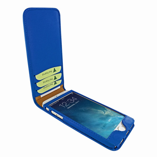Piel Frama 689 Blue Magnetic Leather Case for Apple iPhone 6 Plus