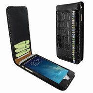 Piel Frama 689 Black Swarovski Crocodile Magnetic Leather Case for Apple iPhone 6 Plus