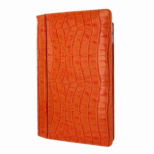 Piel Frama 695 Orange Crocodile Magnetic Leather Case for Apple iPad Air 2