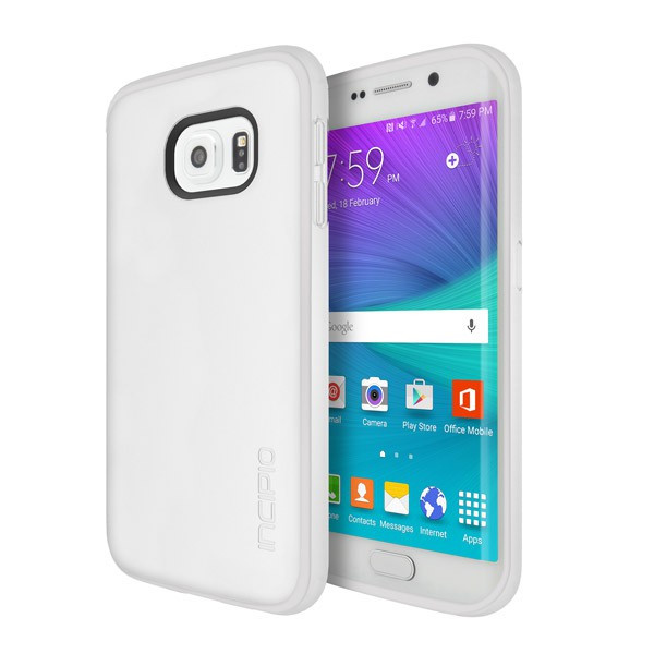 Incipio Clear OCTANE PURE Co-Molded Impact Absorbing Case for Samsung Galaxy S6 Edge