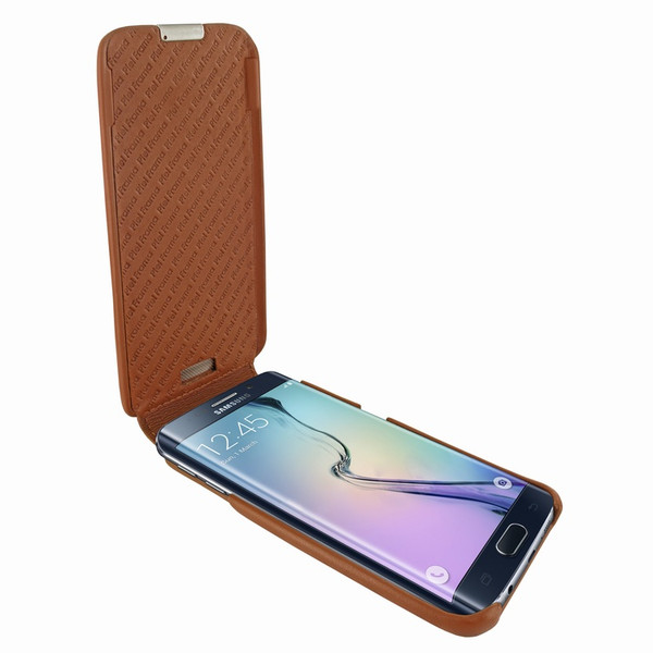 Piel Frama 714 Tan iMagnum Leather Case for Samsung Galaxy S6 Edge