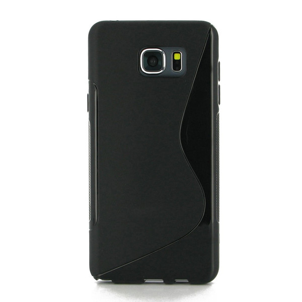 PDair Black Soft Plastic Case for Samsung Galaxy Note 5