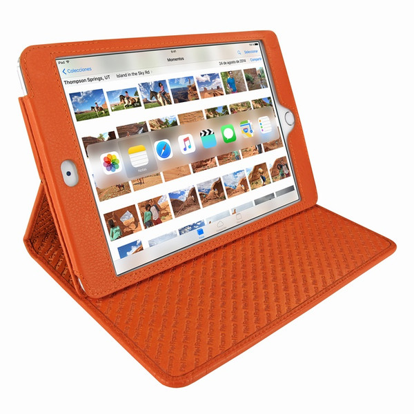 Piel Frama 722 Orange Cinema Magnetic Leather Case for Apple iPad mini 4