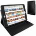 Piel Frama 722 Black Crocodile Cinema Magnetic Leather Case for Apple iPad mini 4