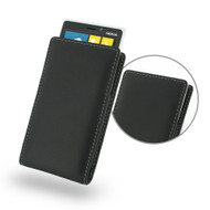 PDair Black Leather Vertical Pouch for Nokia Lumia 920