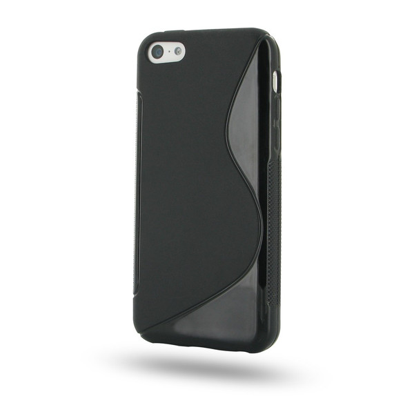 PDair Black Soft Plastic Case for Apple iPhone 5C