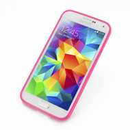 PDair Pink Soft Bumper Cover for Samsung Galaxy S5
