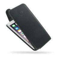 PDair Black Leather Slim FlipTop-Style Case for Apple iPhone 6 Plus / 6S Plus