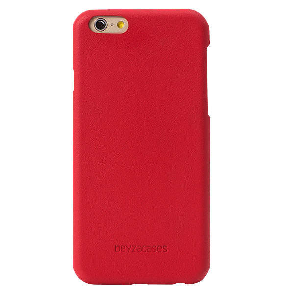 Beyza Red IRIS Smooth Leather Case for Apple iPhone 6 / 6S