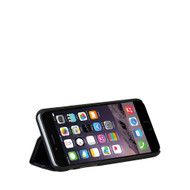 Mapi Black Deskstand Folio Case for Apple iPhone 6 Plus / 6S Plus