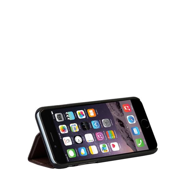 Mapi Brown Deskstand Folio Case for Apple iPhone 6 Plus / 6S Plus
