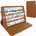 Piel Frama 722 Tan Karabu Cinema Magnetic Leather Case for Apple iPad mini 4