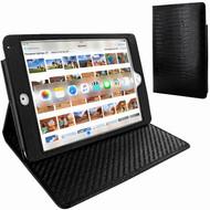Piel Frama 722 Black Lizard Cinema Magnetic Leather Case for Apple iPad mini 4