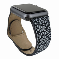 Piel Frama 732 Black Stingray Leather Strap for Apple Watch (38mm)