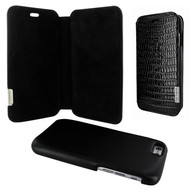 Piel Frama 734 Black Lizard FramaSlimMagnum Leather Case for Apple iPhone 6 / 6S