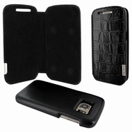 Piel Frama 742 Black Crocodile FramaSlimMagnum Leather Case for Samsung Galaxy S7