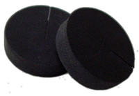 "Neoprene Disks 2"" x 0.5"""