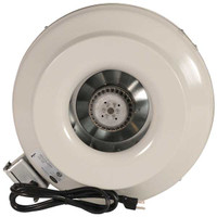 "Can Fan 6"" HO Inline Fan Duct Blower"