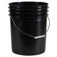Bucket 5 Gallon Black w/ Handle