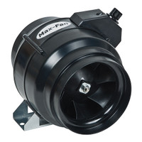 "Max Fan 6"" Inline Fan Duct Blower - 3 Speed"
