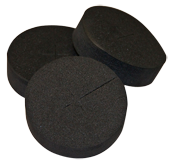 "Neoprene Disks 2"" x 0.75"""