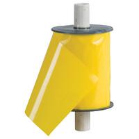 """Yellow Sticky Tape Ribbon - 4"""" x 50'"""