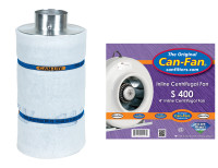 "Can Fan Complete 4"" Fan and Filter Combo"