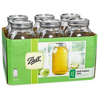 Ball Jars 64oz - 6 pack