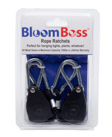 BloomBoss Rope Ratchet Light Hangers 2 pack