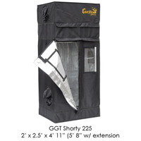 "Gorilla Grow Tent 2'x2.5' SHORTY w/ 9"" Extension K"