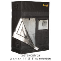 "Gorilla Grow Tent 2'x4' SHORTY w/ 9"" Extension Kit"