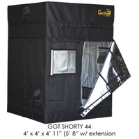 "Gorilla Grow Tent 4'x4' SHORTY w/ 9"" Extension Kit"