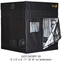 "Gorilla Grow Tent 5'x5' SHORTY w/ 9"" Extension Kit"
