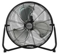 Hurricane Pro High Velocity Metal Oscillating Floor Fan 20 in