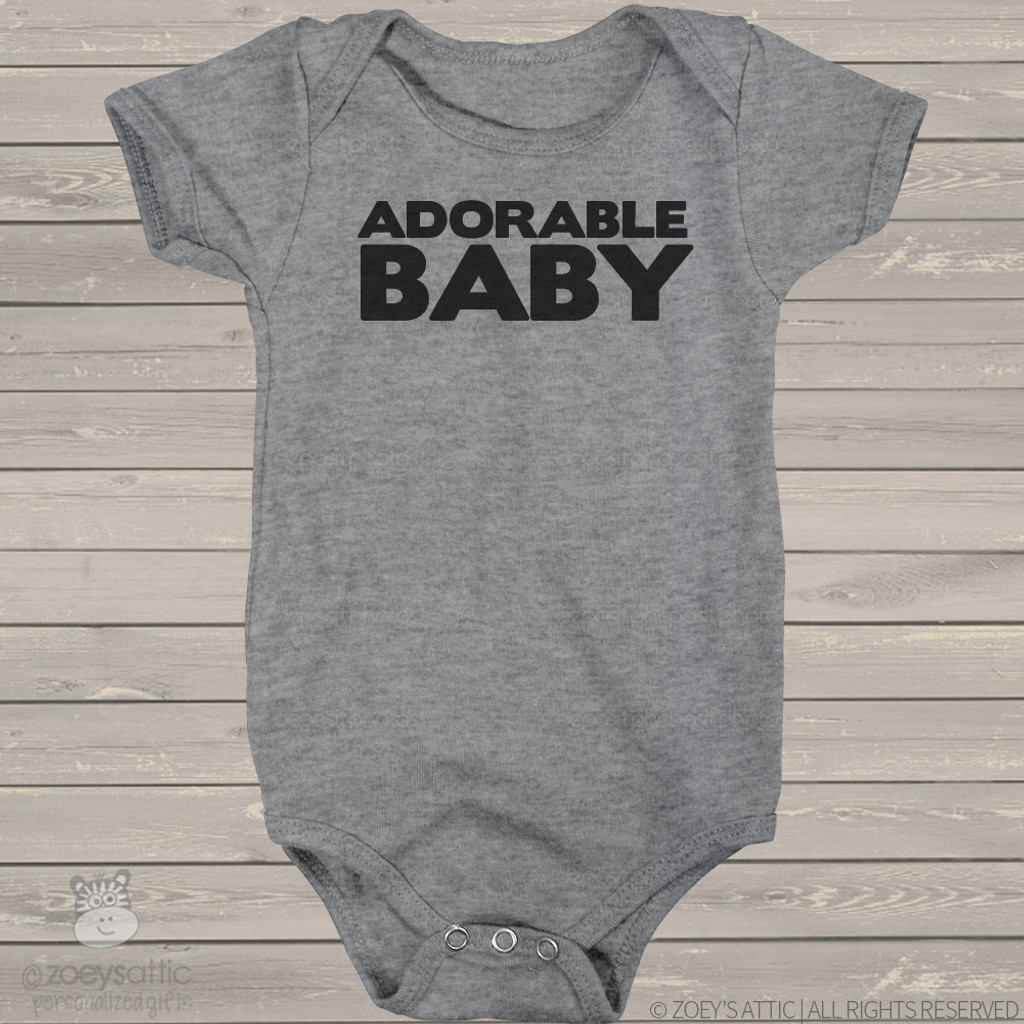 Infant bodysuit adorable baby ORIGINAL design custom bodysuit