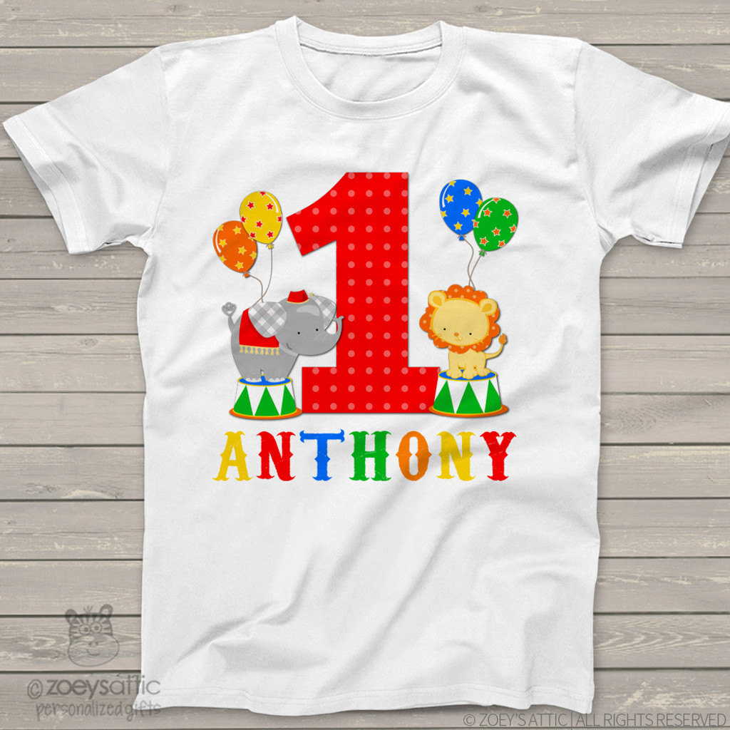 Top 5 First Birthday Shirts