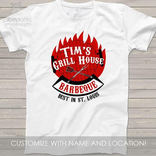 Barbecue personalized Tshirt