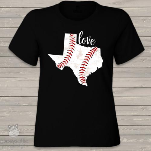Home state baseball DARK Tshirt