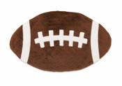 Football Minky Cuddler by Mud Pie
