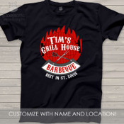 Barbecue personalized DARK Tshirt