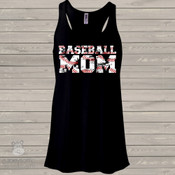 Baseball mom DARK tank top