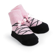 Girls ballet slipper sock