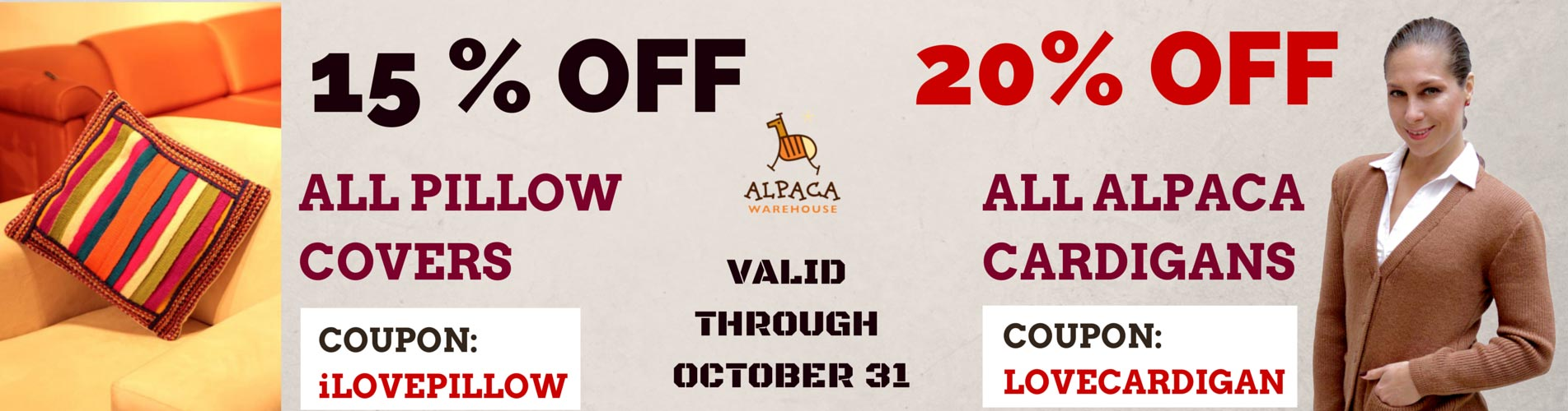 Alpaca Warehouse Discount Coupon Code
