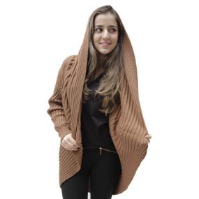 Alpaca Wool Coat Camel SZ L