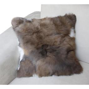 "Superfine 100% Baby Alpaca Fur Pillow Case Cushion 17""x 17"""
