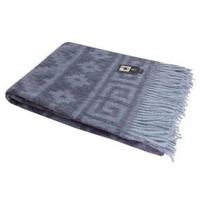 Ethnic Fine Alpaca Blend Merino Wool Blanket Throw