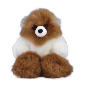 "Superfine 100% Baby Alpaca Fur Artist Teddy Bear One of a Kind 14"" (20-100-02638)"